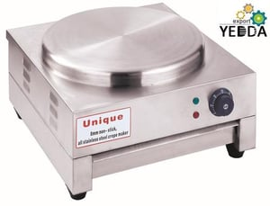 15 Inch All Stainless Steel Electric Pancake Oven