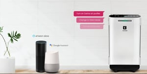 Cerina Air Purifier with Wifi & Voice command Enabled