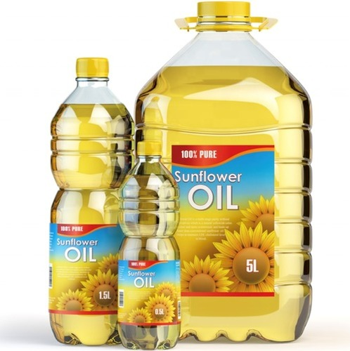 Impurity Free Sunflower Oil