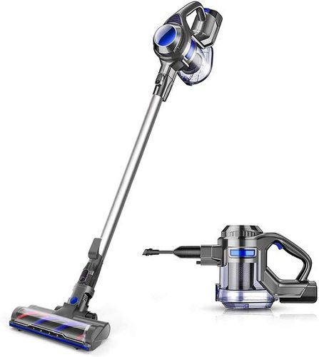 MOOSOO Cordless 4 In 1 Handheld Vacuum Cleaner With Powerful Suction Stick
