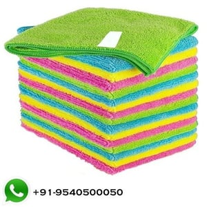 Completely Reusable Microfiber Cloth
