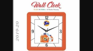 Business Promotional Plastic Wall Clock