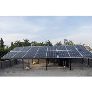 Rooftop Solar Power Plant On Grid