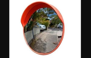Road Safety 24 Inches Convex Mirror