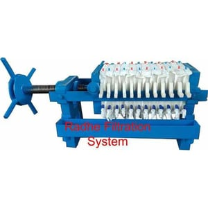 12 Inch Manual Filter Press For Oil Filtration