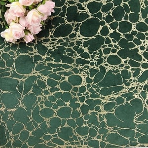 100% Polyester High Quality Velvet Embroidery Sofa Fabric Curtain Fabric