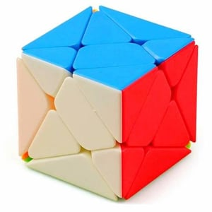 Stickerless Cube Puzzle Toy