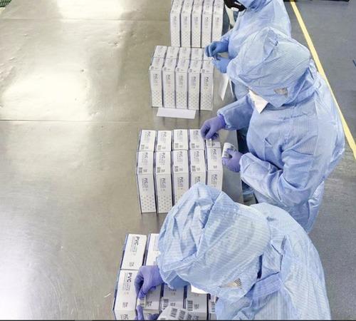 Blue Examination Disposable Powder Free Nitrile Gloves