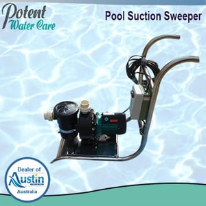 Easy Handling Suction Sweeper