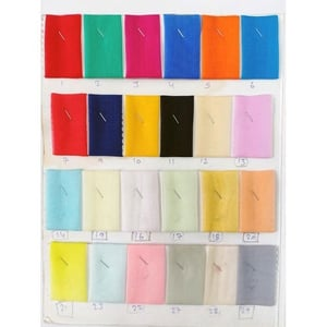 Multiple Color Organza Fabric for Apparel and Clothing