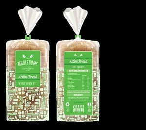 Bread Packaging Bag With Customized Printing