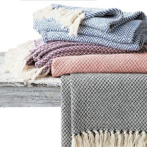 100% Polyester Bed Throws