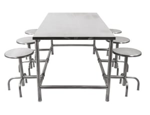 Canteen Table with Seamless Finish