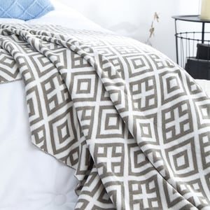 Printed Decorative Bed Throws
