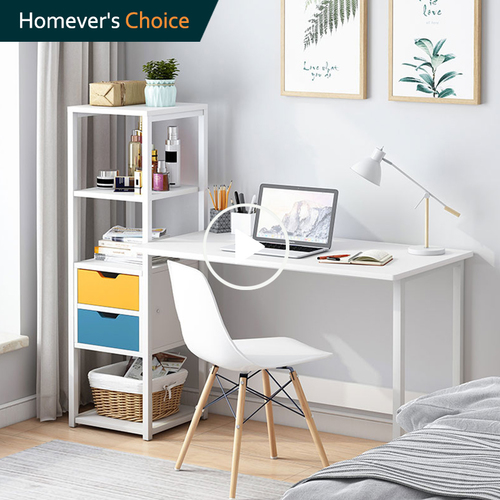 Cheap Modern Home Table Computer Station With Shelf