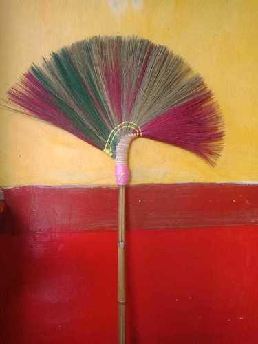 Natural Grass Broom Stick