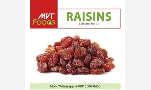 Brown Color Dried Raisins
