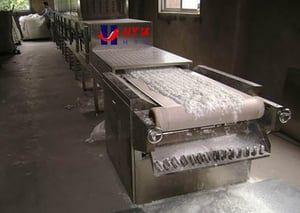 Dry Spices Tunnel Microwave Dryer