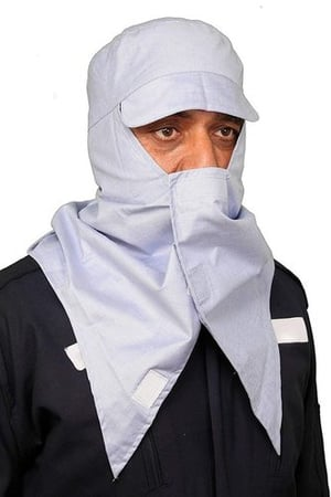 Dust Proof Men and Women Breathable Cotton Fabric Full Face Mask