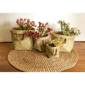 Eco-Friendly Handcrafted Purun Basket
