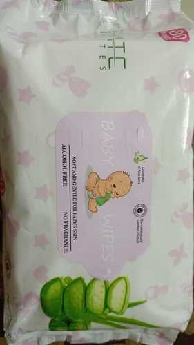 80 Piece Pack White Baby Wipes