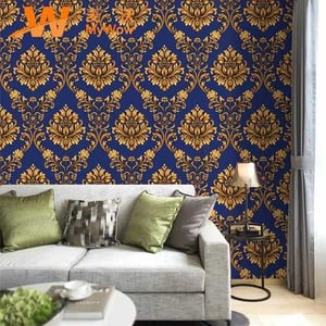 Washable Flower Design Imported Wallpapers