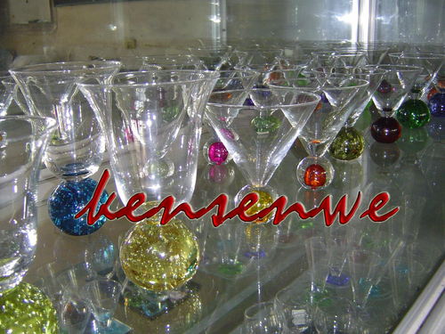 Impeccable Finish Glass Candler