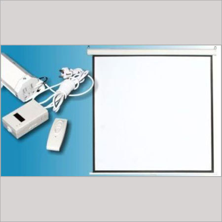 Easy To Install Motorized Projection Screens