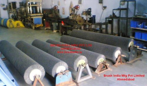 Industrial Brush Roller