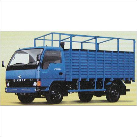 Blue Color Long Cargo Truck