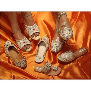 Exquisitely Crafted Beaded Shoes
