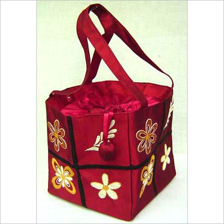 Hand Embroidery Silk Bag