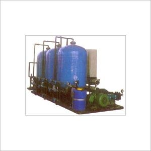 Macrolite Filtration System for Sea Water