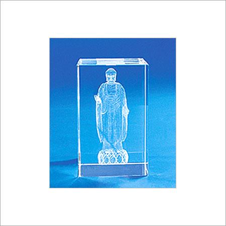 Novel Design Laser Engraved Crystal