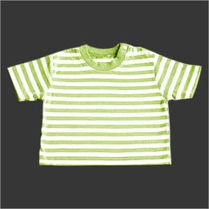 Green Color Round Neck T-Shirt