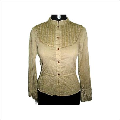 Plain Honey Combed Ladies Fashion Top
