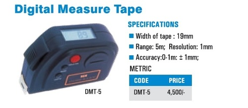 Digital Measure Tape