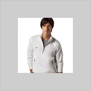 White Color Knitted T- Shirts