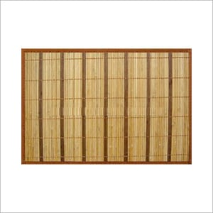 Brown Color Bamboo Placemat