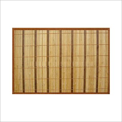 Waterproof Brown Color Bamboo Placemat