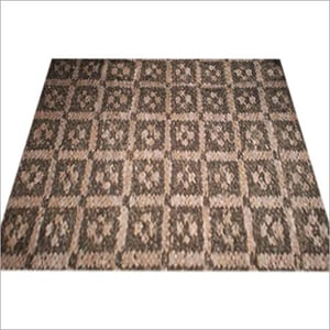 Square Type Leather Sheneil Rugs