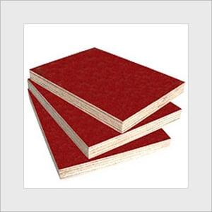 Red Color Densified Shuttering Plywood