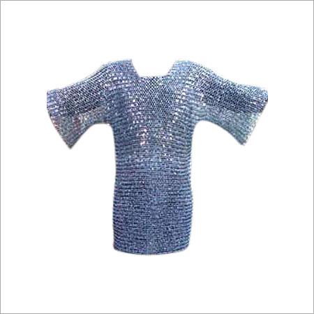 Round Riveted Aluminum Chainmail Shirt