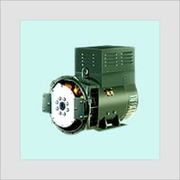 AC Generator with Single Bearing