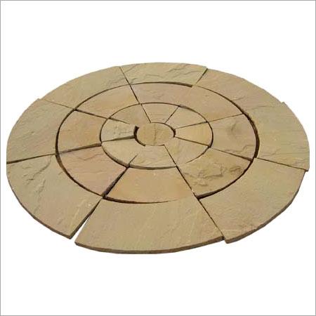 Crack Proof Limestone Yellow Pavings