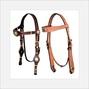 Leather Horse Head Stalls