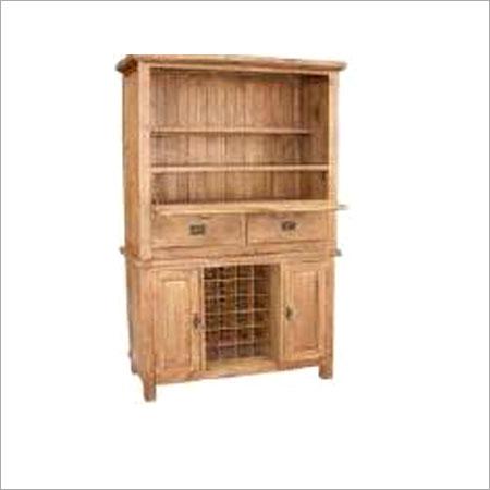 Recycled Oak Hardwood Rack Almirah