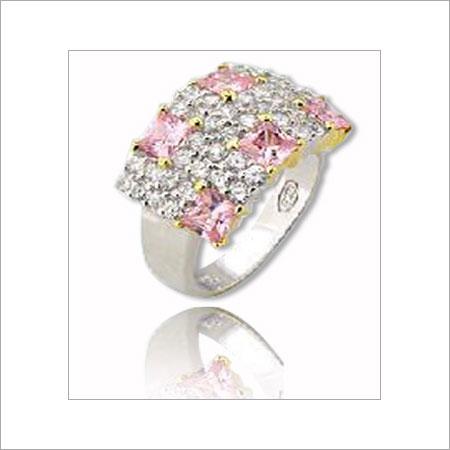 Elegant Design Sterling Silver Ring