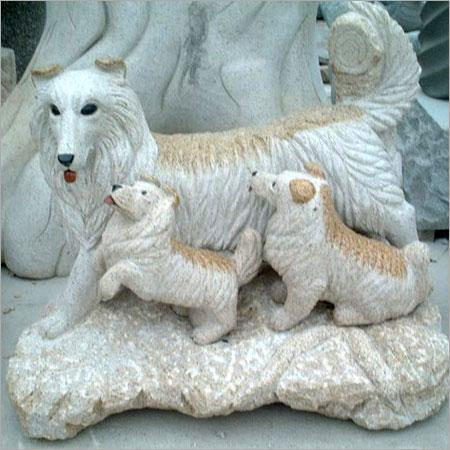 Scratch Resistance Stone Animal Sculpture
