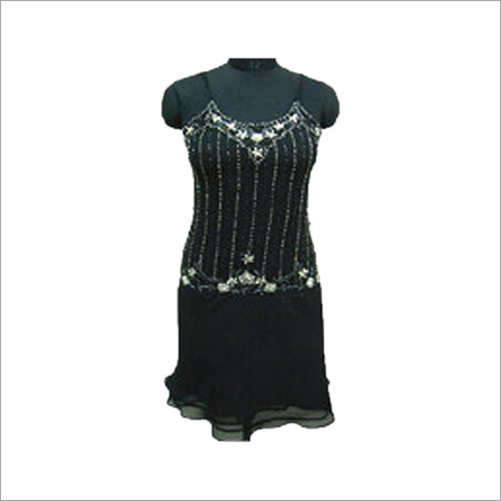 Party Wear Short Gown
